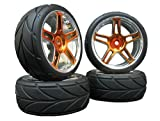 4x Onroad Reifen Felgen FR19 1/10 Custom !! Design/Farbe wählbar