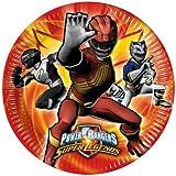 Pack of 10 Power Rangers Super Legends Paper Plates 23cm