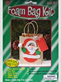 Santa Paper & Foam Bag Craft Kit