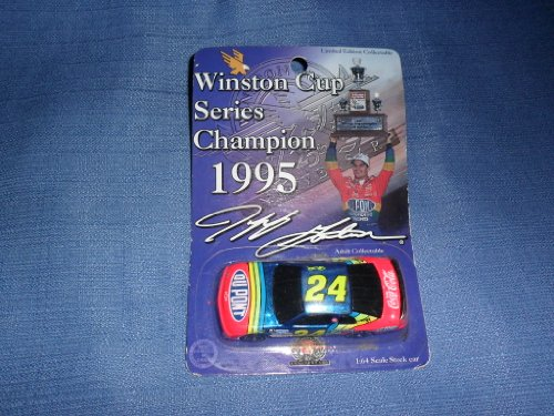 1995 NASCAR Action Racing Collectables . . . Jeff Gordon #24 Dupont Chevy Monte Carlo 1/64 Diecast . . . Winston Cup Series Champion - 1