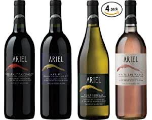 Ariel Non-alcoholic Wine Variety 2 Pack: Amazon.com: Grocery & Gourmet