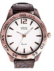 YOUTH CLUB ULTIMATE WHITE ANALOG WHITE DIAL BOY'S WATCH-RST-30