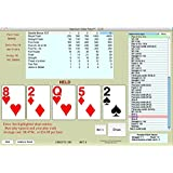 OPTIMUM VIDEO POKER 3.3, Advantage Play Trainer for all Windows 2000 and later, and all Mac OS X 10.2 and later