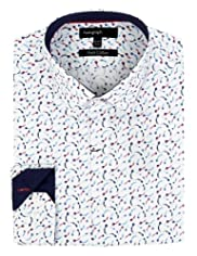 Autograph Pure Cotton Kite Print Shirt [T11-0986A-S]