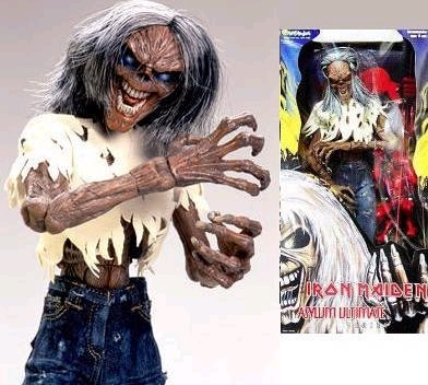 Iron Maiden Number Of The Beast Giant Eddie Figure