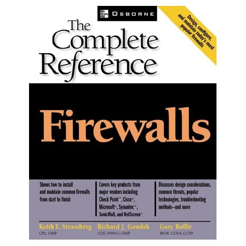 The complete reference Firewalls