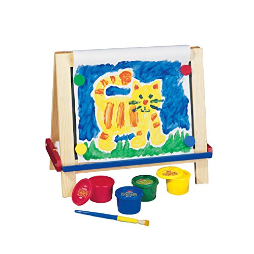 Wooden chubby paint brush game reverse