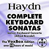 Haydn: Complete Keyboard Sonatas (The VoxBox Edition) Album Cover