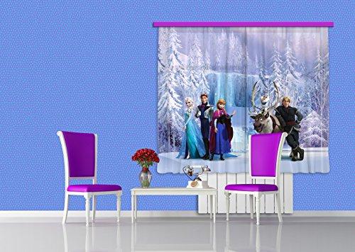 Ag design fcs xl 4303 tende per camera bambini motivo - Tende per camerette disney ...