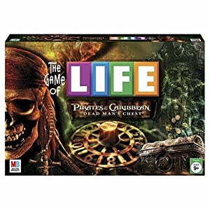 Game of Life: Pirates of the Caribbean Dead Man's Chest board game!
