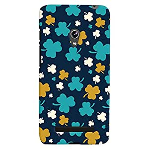 ColourCrust Asus Zenfone 5 Mobile Phone Back Cover With Floral Pattern - Durable Matte Finish Hard Plastic Slim Case