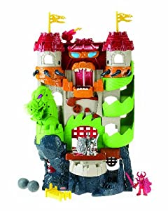 Amazon Com Fisher Price Imaginext Dragon World Fortress