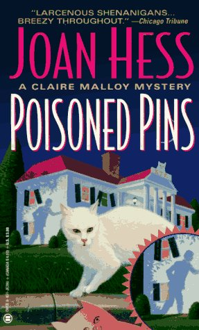 Image for Poisoned Pins (Claire Malloy Mysteries, No. 8)