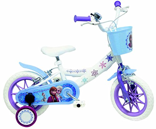 """Bicicletta ufficiale 12"""" Disney Frozen"""