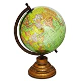 Giratoria de escritorio globo de la tierra verde Geografía Ocean World vector de la decoración