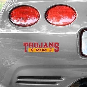 NCAA USC Trojans Mom Car Decal