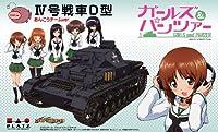 1/35 ガールズ&パンツァー IV号戦車D型 あんこうチームver