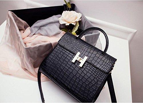 GQ-WOMEN BAG MS 2016 new donna pelle borsa borsetta in pelle Messenger bag , black