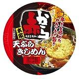 (お徳用ボックス) カップ赤から天ぷらきしめん 254g*12食