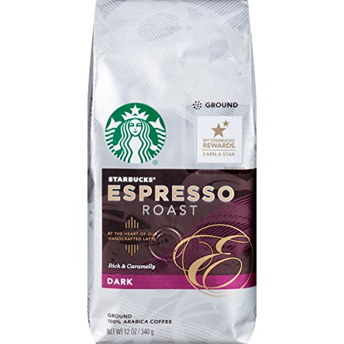 Starbucks Ground Coffee Espresso Roast, 12 oz (Starbucks Ground Coffee Roast compare prices)