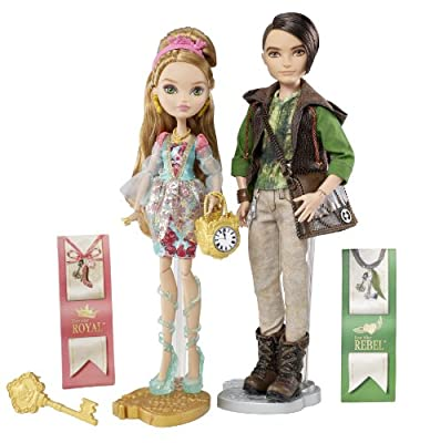 Ever After High Ashlynn Ella & Hunter Huntsman Doll, 2-Pack by Ever After High