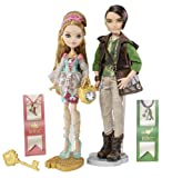 Ever After High Ashlynn Ella & Hunter Huntsman Doll, 2-Pack