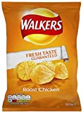 Walkers Roast Chicken 32.5 g (Pack of 48)