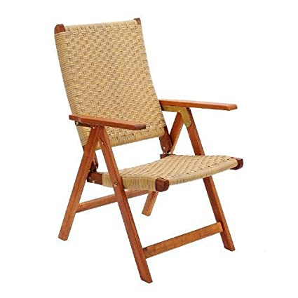 Achla Design Poly Weave Folding Chair # OFC-03