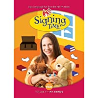 Signing Time Series 2 Vol. 9 - My Things