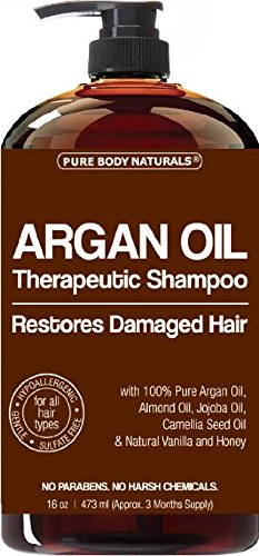 Argan-Oil-Shampoo-Restores-Damaged-Hair-Argan-Oil-for-Hair-Increases-Shine-and-Deeply-Nourishes-Safe-for-All-Hair-Types-and-Color-Treated-Hair-16-oz-Bottle-with-Pump