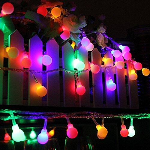 led lichterkette innen deko gl hbirne 10 meter outdoor runde lichter wasserdichte kugel licht. Black Bedroom Furniture Sets. Home Design Ideas