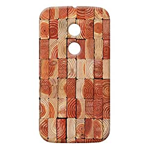 100 Degree Celsius Back Cover for Motorola Moto E 2nd Gen (Multicolor)