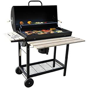 Grill Holzkohle BBQ Collection Edelstahl 36 cm Durchmesser