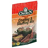 OrgraN Stuffing & Coating Mix, 4.2-Ounce Packages (Pack of 8) ~ Orgran
