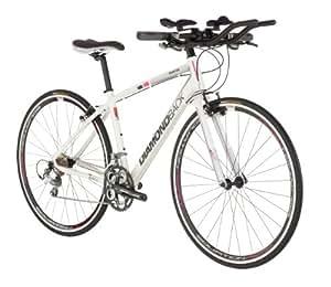 Diamondback 2013 Women's Interval Performance Hybrid Bike (700c Wheels, Pearl White/Pink, 15-Inch,  Small)