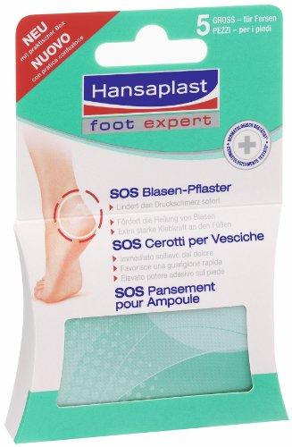 Hansaplast Blasenpflaster groß, 2er Pack (2 x 5 Stück)