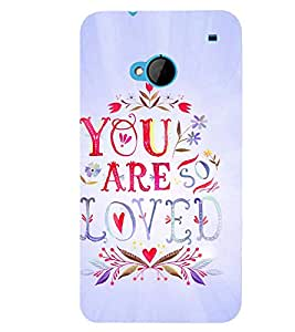 PRINTSWAG LOVE QUOTE Designer Back Cover Case for HTC ONE M7