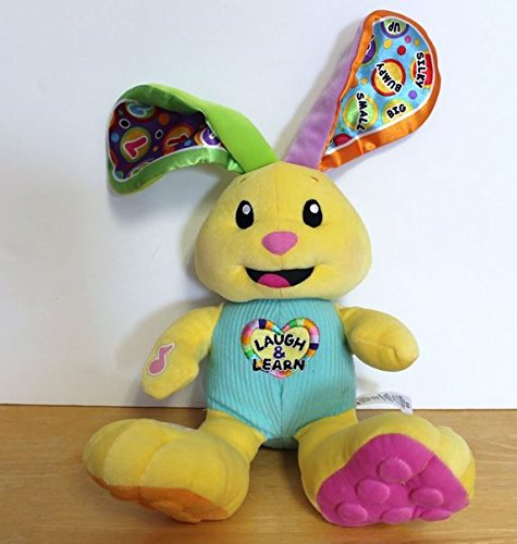 Laugh and Learn Plush Interactive Bunny - 15 Inches