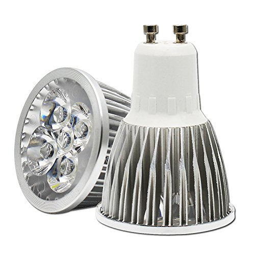 10 Pack 5W GU10 LED Bulbs,40W Incandescent Equivalent, 3000K Warm White, Tracking Lights, Not Dimmable