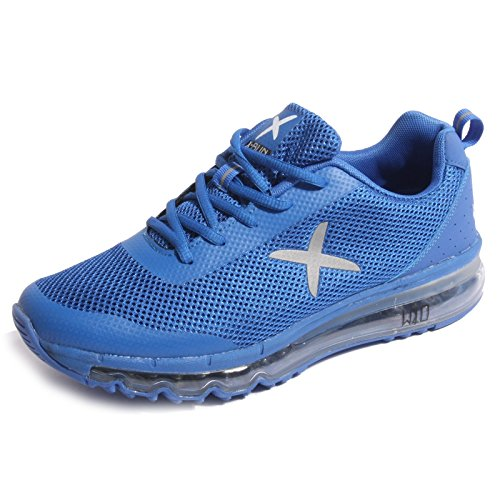 B0501 sneaker uomo WIZE & OPE X-RUN scarpa blu shoes men [44]