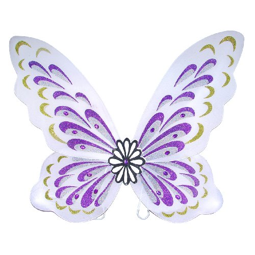 White Adult Flower Fairy Costume Wings