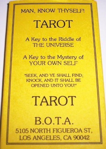 Builders of the Adytum (B.O.T.A.) Tarot Deck