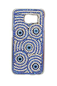 Case Design Samsung Galaxy A5 Swarovski Back Case Cover- Blue