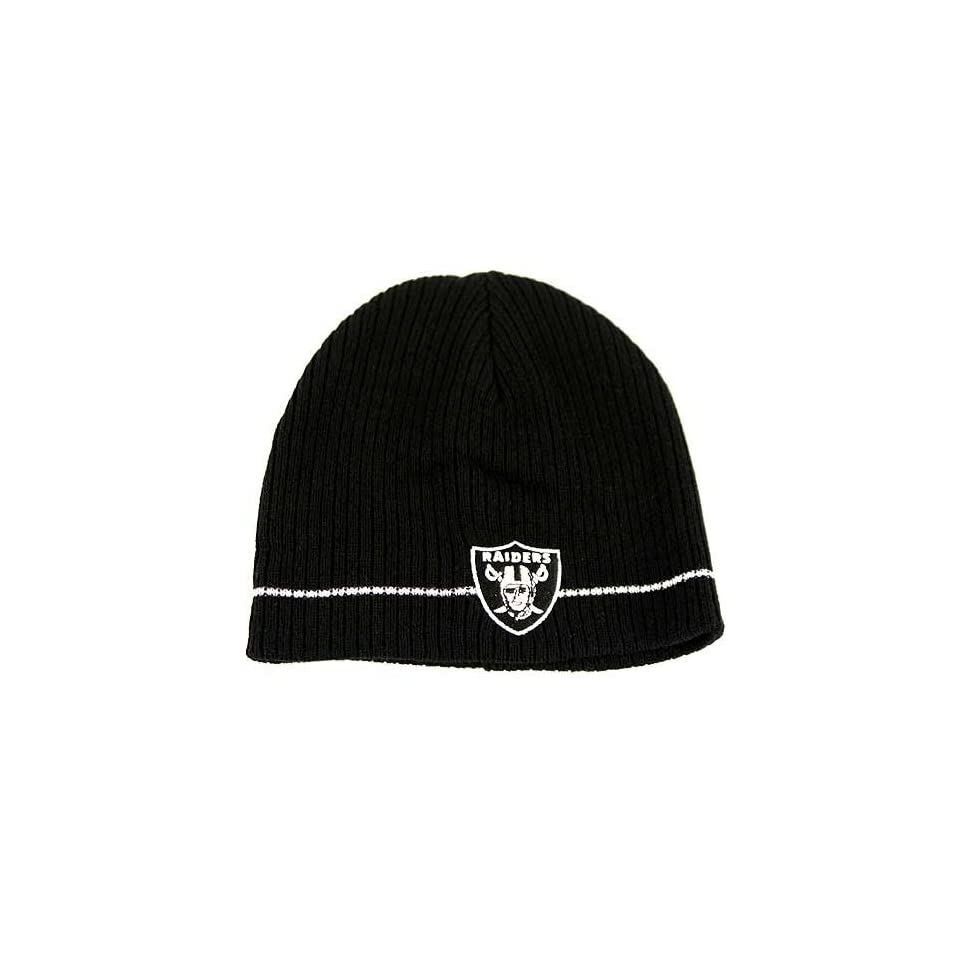 Oakland Raiders Knit Beanie Hat a1c37d467