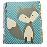Carolina Pad Studio C College Ruled Poly Cover 5-Subject Spiral Notebook ~ Hair Of The Dog (Fox On B