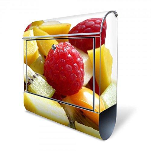 banjado-large-letterbox-38x435x125-cm-motif-quality-stainless-steel-18-0-fruit-mix