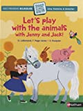 "Afficher ""Let's play with the animals with Jenny and Jack !"""