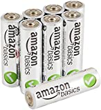 AmazonBasics AA Performance Alkaline Batteries [Pack of 8]