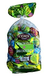 Cemoi Chocolatier Milk Chocolate Hollow Easter Eggs Easter Gift Present (Pack... by Cemoi
