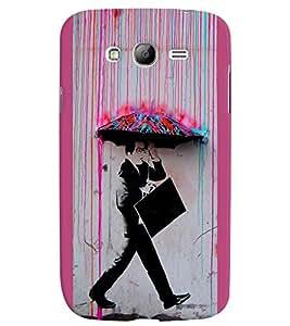 Fuson 3D Printed Boy Designer back case cover for Samsung Galaxy Grand I9082 - D4557